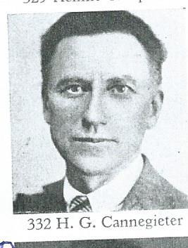 Portretje van H.G.Cannegieter uit ket Lectuurrepertorium
