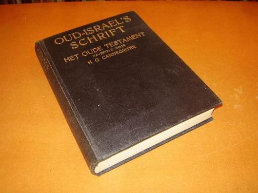 Oud Israel's schrift; door H.G.Cannegieter. 1924
