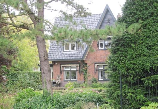 Villa de Eikenhorst aan de Bennebroekerlaan in Bennebroek, gemeente Bloemendaal