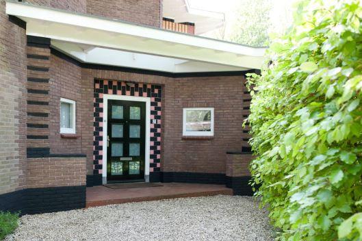 Entree van pand vh. de Eikenhorst in Bennebroek