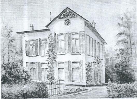 Voor de afbraak vervaardigde Piet Kapsenberg een pentekening van Klein Berkenrode, tegenwoordig aanwezig in het archief van de Historische Vereniging Heemstede Bennebroek