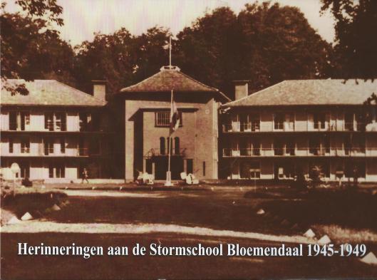 Vooromslag van boek: Herinneringen aan de Stormschool van Bloemendaal 1945-1949