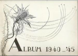 Vooromslag oorlogstekeningen van Auke A.Tadema