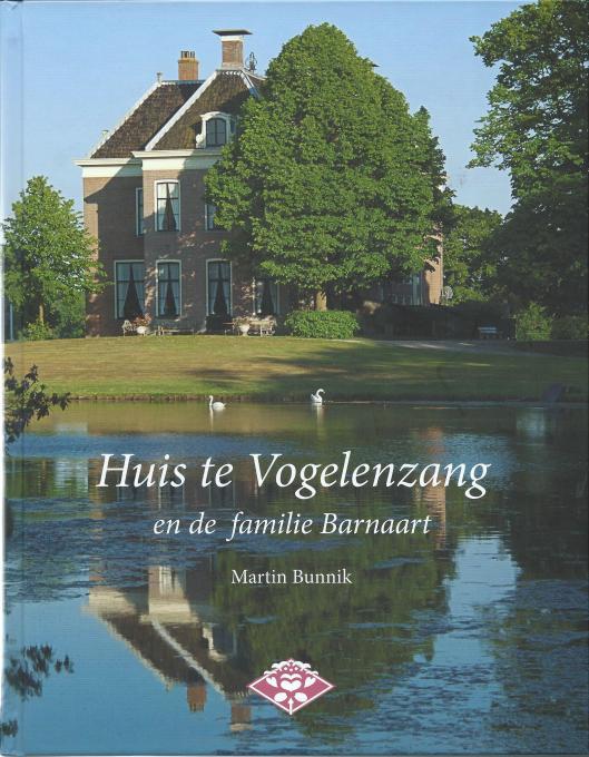 Vooromslag van boek Huis te Vogelenzang door Martin Bunnik (foto Theo Out)