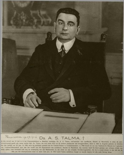 Minister A.S.Talma