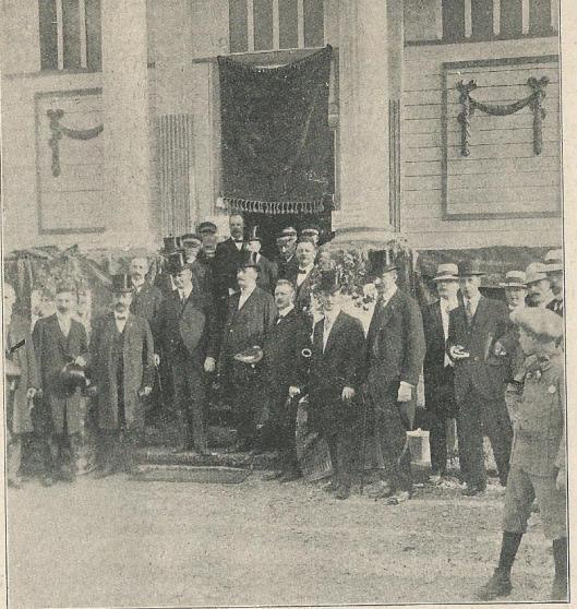 Z.Exc. minister Talma opende een tentoonstelling '1913' in Tilburg ter gelegenheid van het Onafhankelijkheidsjubileum georganiseerd in Tilburg en 's-Herogenbosch. Talma hield daarbij 'een voortreffelijke, betekenisvolle rede', aldus de Katholieke Illustratie (1913)