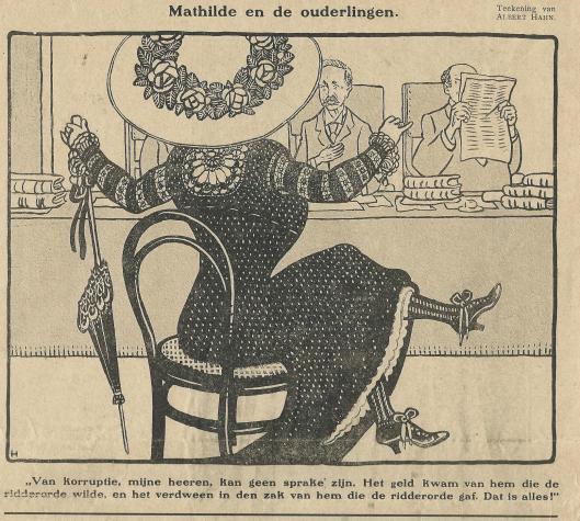 'Mathilde en de ouderlingen' door Albert Hahn