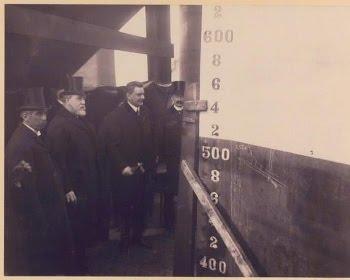De tweede standplaats van Talma als predikant was Vlissingen. Daar bevond zich ook de grote scheepswerf van de Koninklijke Maatschappij De Schelde. Later als minister van Landbouw, Nijverheid en Handel mocht Talma het vracht- en passagierschip Frisia in 1909 te water laten (foto gemeentearchief Vlissingen)