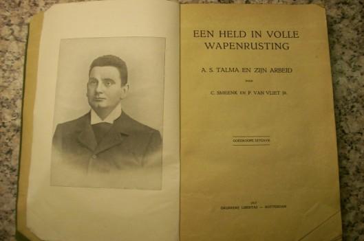 De eerste biografie in boekvorm over Talma verscheen in 1916