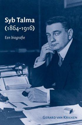 Voorzijde van in 2013 verschenen biografie over Talma