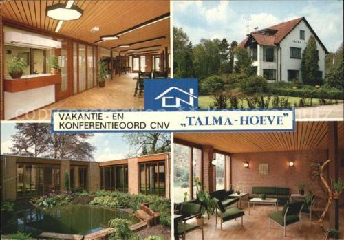 Ansichtkaart van de 'Talma-hoeve'