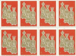 Sluitzegels Wetselaar 1970