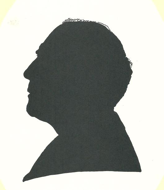 Silhouet Pieter Wetselaar, 1995