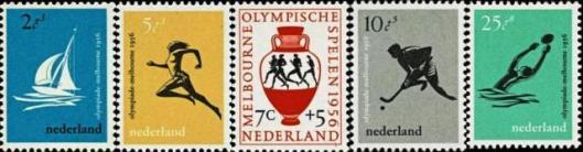 Postzegelontwerpen Pieter Wetselaar