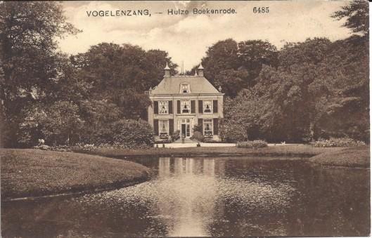 Ansichtkaart van Boekenrode uit het eerste kwart van de 20ste eeuw