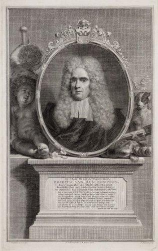 Portretgravure van Gillis van den Bempden (Bempten)