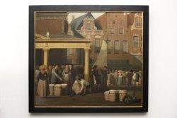 De Boterwaag in Leeuwarden, door Christoffel Franck