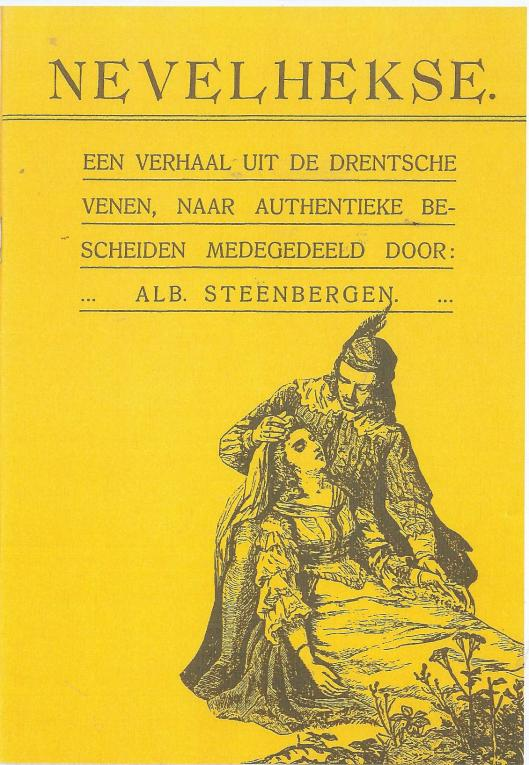 Vooromslag van heruitgave 'Nevelhekse' door Albert Steenbergen