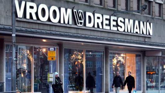 Voorgevel Vroom & Dreesmann Haarlem uit 2007(V&D).ANP PHOTO KOEN SUYK