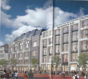 Vroom en Dreesmann-gebouw in Amsterdam wordt in 2017 Hudson's Bay
