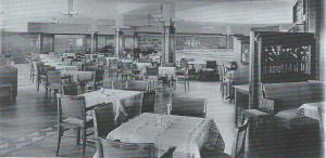 Interieurfoto V&D Haarlem in 1934