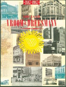 Voorzijde van jubileumuitgave Vroom en Dreesmann 1887 1987