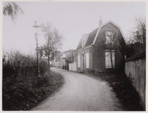 Begin Lanckhorstlaan omstreeks 1920.