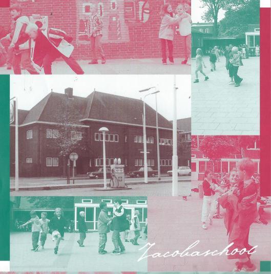 Collage Jacobaschool uit: Honderd jaar Katholiek Onderwijs. 2000