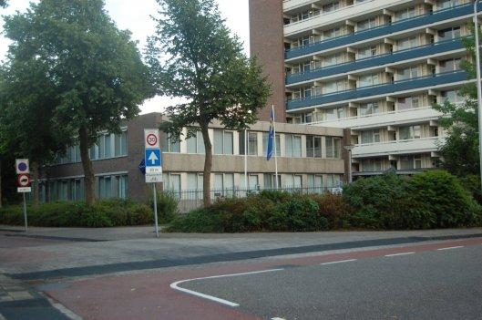 Het tegenwoordige politiebureau, Kerklaan 61, Heemstede