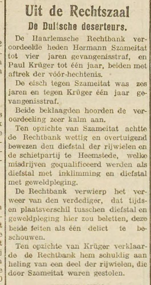 Politievonnis 1911