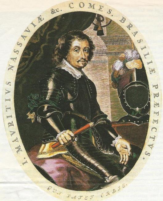 Gravure van Johan Maurits door Theodor Matham