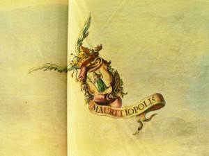 Wapen van graaf Johan Maurits (uit boek Van Baerle)