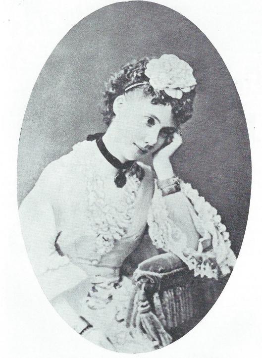 Foto van Mathilde gravin zu Spaur - Barones Van Verschuer (Venetië 1870)