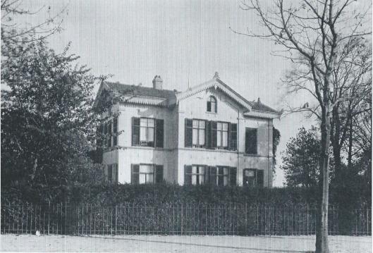 't Groot Klooster in 1873 gebouwd (nabij het huidige Hageveld)