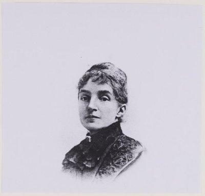 Portret van Henriëtte Louise Thierry de Bye (1847-1914), gehiwd met J.Ph.Dólleman