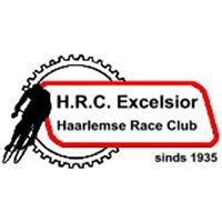 Logo van de Haarlemse wielerclub Excelsior, opgericht in 1935, waarvan o.a. Piet Steenvoorden lid was