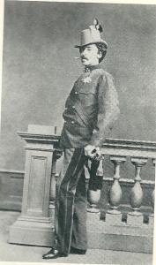 Graaf Maximilian Joseph Karl Friedrich Graf zu Spaur und Flavon (1834-1896) die Mathilde Agathe Barones Van Verschuer 6 september 1861 schaakte/ontvoerde..