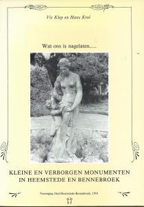 Vooromslag van 'Wat ons is nagelaten....' door Vic Klep en Hans Krok