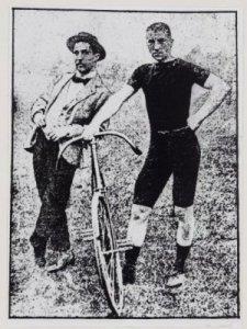 Twee legendarische wieler- en schaatsfenomenen:: Jaap Eden en Klaas Pander (NHA)