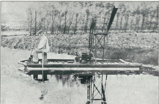 Bericht over de uitvinding van T.van Wickevoort Crommelin van Berkenrode uit 1909