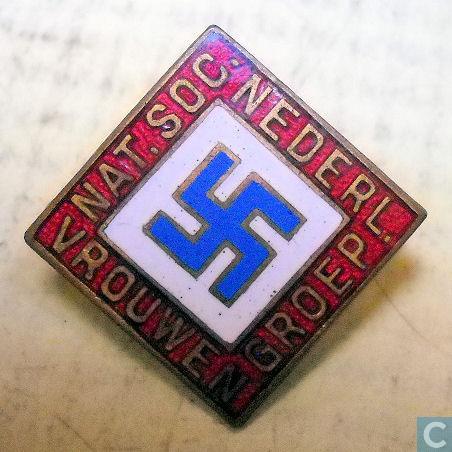Speld met logo van N.S.N.A.P.-Kruyt groep