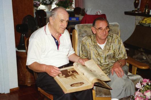 De gebroeders Michel (Chiel) en Joop Martin