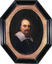 Portret van Adriaen Pauw door Gerard Terborgh (bruikleen Frans Hals Museum)