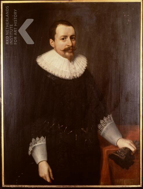 Portret van de diplomaat Cornelis Pauw, 1591