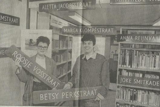Foto tentoonstelling in bibliotheek Velserbroek (Haarlems Dagblad, 3 maart 1992)