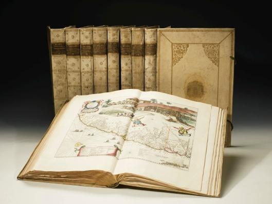De geveilde atlas van Blaeu