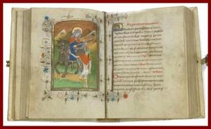 Middeleeuws devotieboek aangekocht door de bibliotheek van Brugge