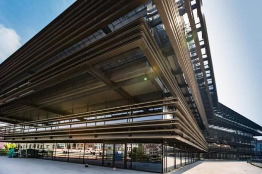 De nieuwe openbare stadsbibliotheek van Gent