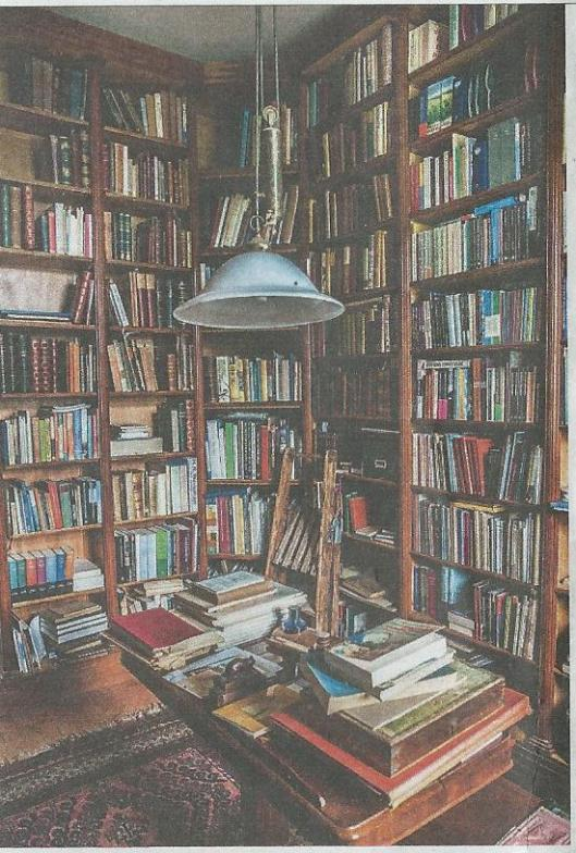 Restantdeel Komrij-bibliotheek