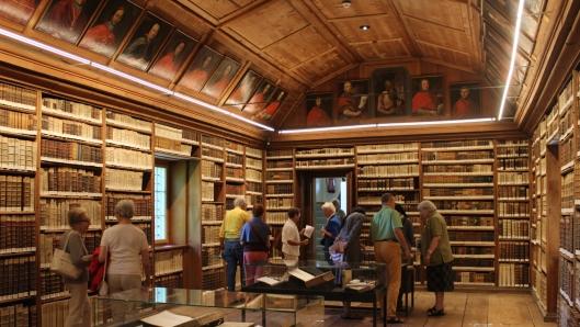 De retraitebibliotheek in Luzern
